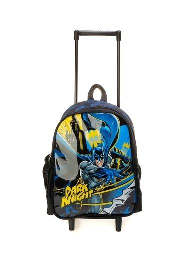 Me Partners Me Partners 10225 Batman Siyah Erkek Çocuk Çekçekli Çanta Siyah